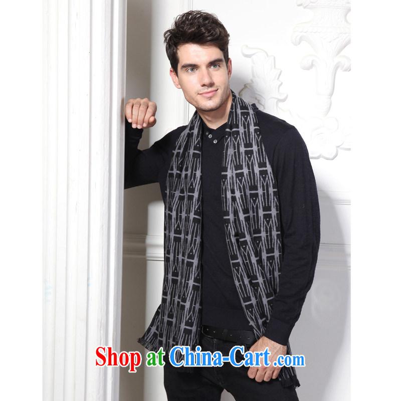 and Sauna cashmere Silk Velvet warm long scarves _gift boxed_ black