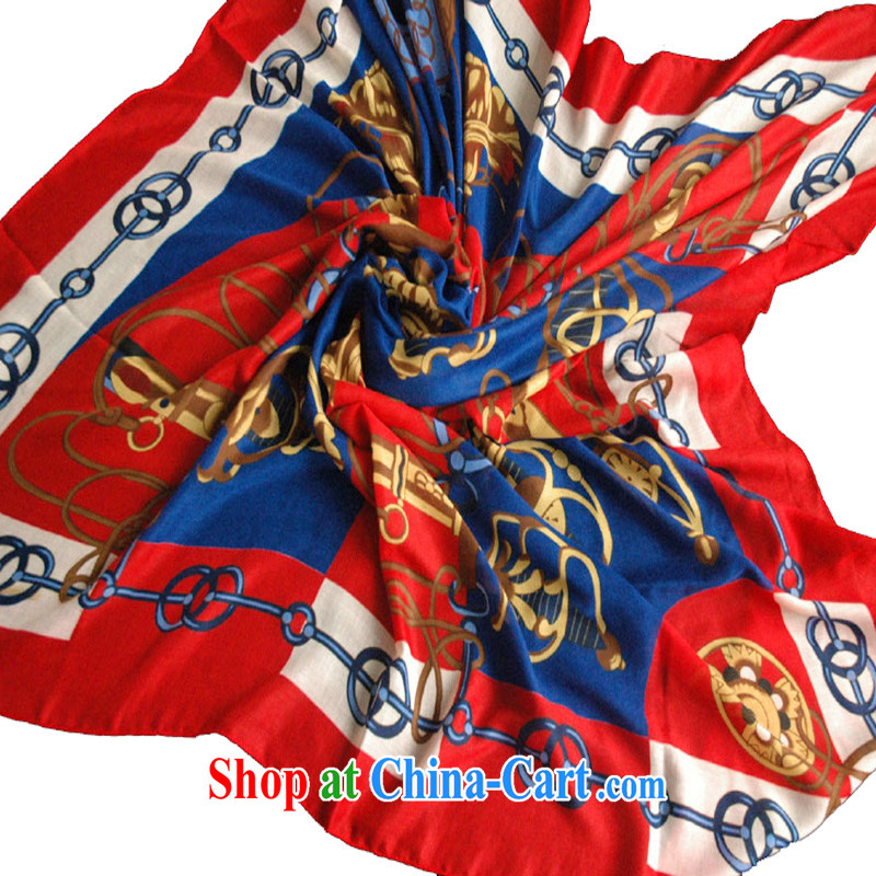 Compilations CHEGEE Ethnic Wind and classy Ms. scarf scarves cotton-wool stylish name-yuan shawl shawl red