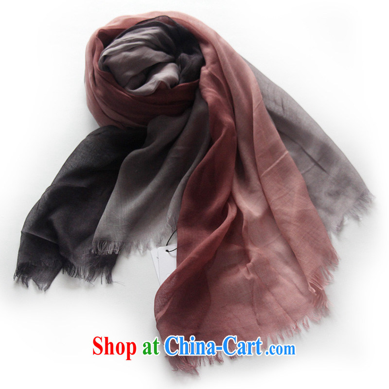 Compilations CHEGEE water the gradient cotton krama taxi men and women in need of the shawl hand-dyed cotton linen unisex couples scarf purple gradient