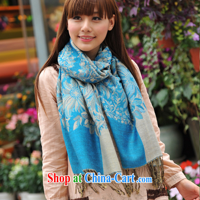 Mu Lin Feng autumn and winter, warm shawl scarf 6569 - 7 sky are code