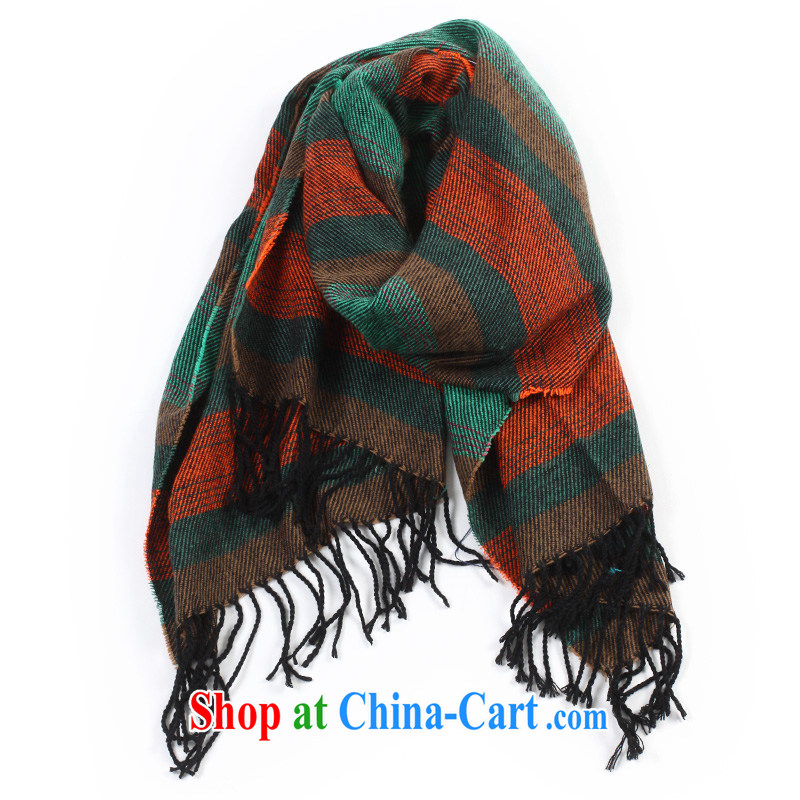 Wing-card the US bars emulation cashmere shawls TY 619 striped scarf