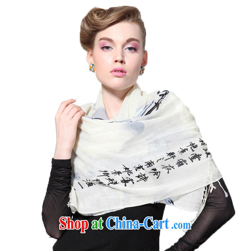 HANG SENG Yuen Cheung- 100_ pure wool stamp long scarves _Boxset_ wing-mui m Gray