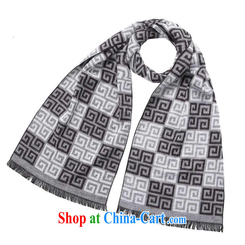 fall and winter warm men, generation, scarves auspicious Return Field MWJ 13,750 black-and-white length _CM_ about 32 _ 180 CM