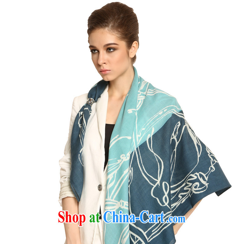 Gemstone butterfly scarf 2013 new ladies wool warm shawls/Golden Saddle No. 1 color