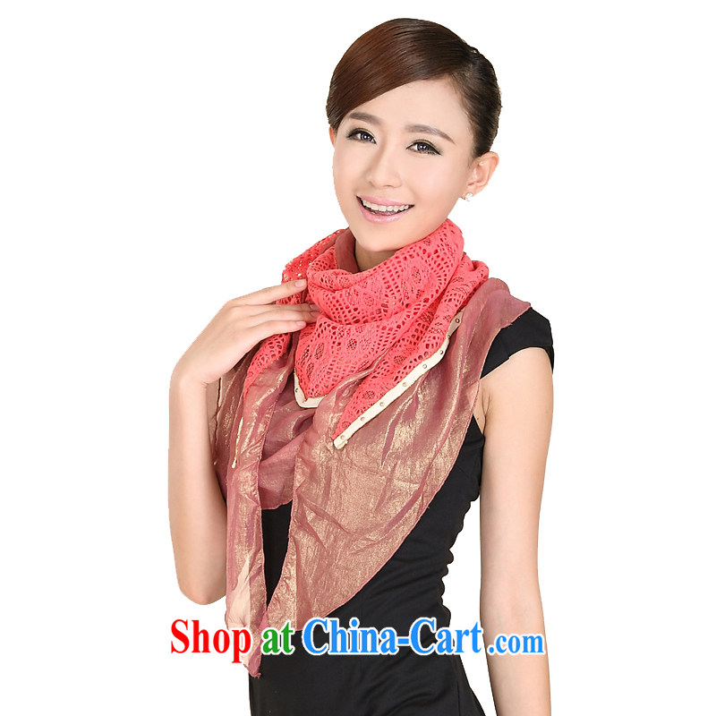 Today's story Korean shawl, new stylish 3 corner scarf 149,069 red