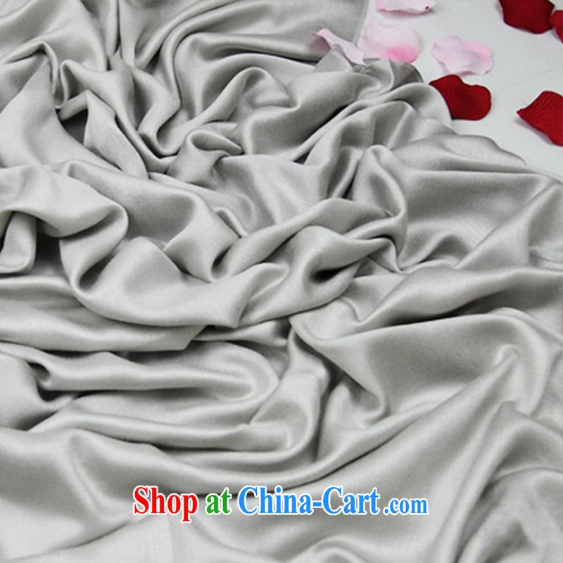 4% discount for the exclusive shopping Girls High Population Day field pashmina wool scarf shawl red the red multi-colored counters 498 bright satin gift genuine silver heat sink shall be long version 194 - Wide 70 CM