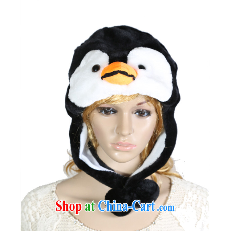 In accordance with ornaments, cute cartoon Little Penguins plush hat, Ms. spring warm ear hat spring show girls hat girls hat-scarf gloves, code (56 - 58 cm) pictures, price, brand platters! Elections are good character, the national distribution, so why buy now enjoy more preferential! Health