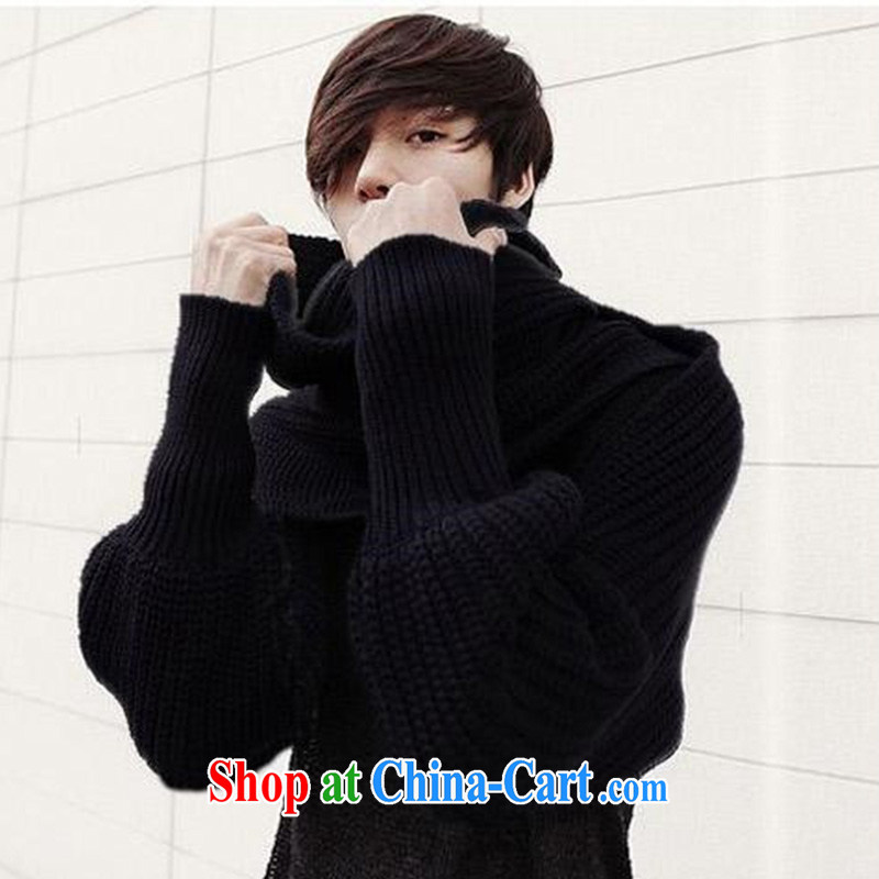 2014 autumn and winter new ultra-long scarf shawl double-sleeve scarf Knitting Yarn scarf, Ms. MWJ 131,333 black are code
