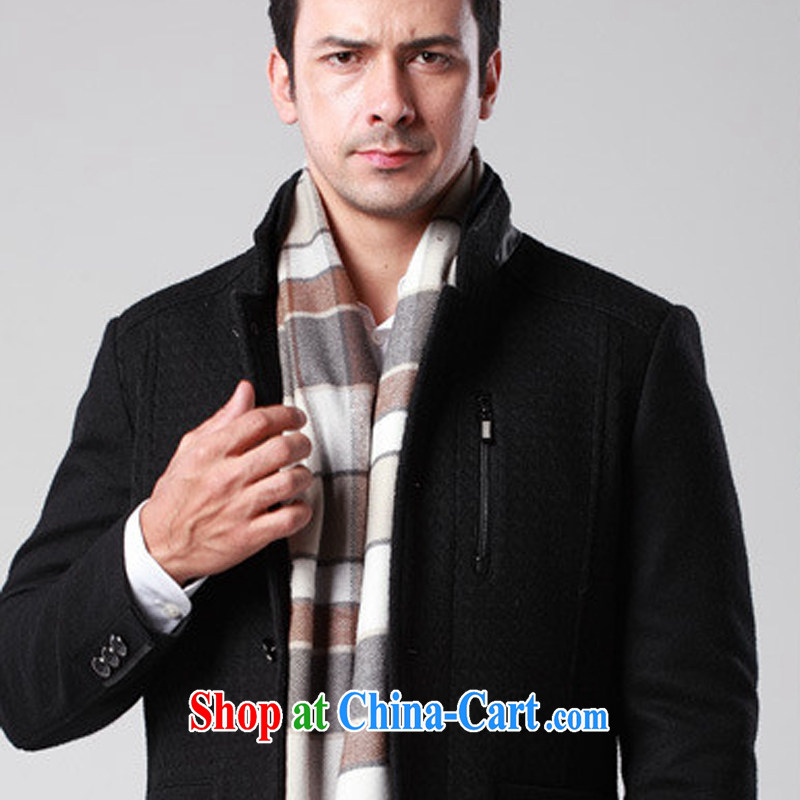 2014, NEW ENGLAND MEN's scarves emulation cashmere tartan scarf autumn and winter Korean scarf MWJ 131,312 1 #deep card its the grid length (CM) 180 * 30