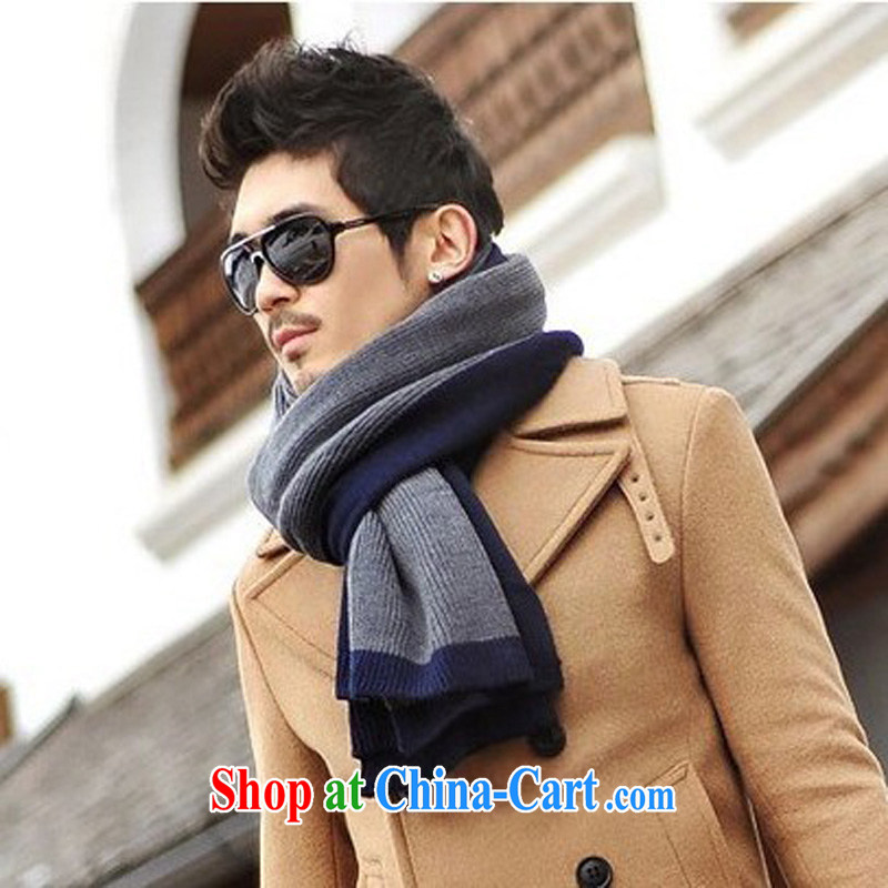 2014 New Men's scarves autumn and winter, thick scarf MWJ 131,317 picture color code