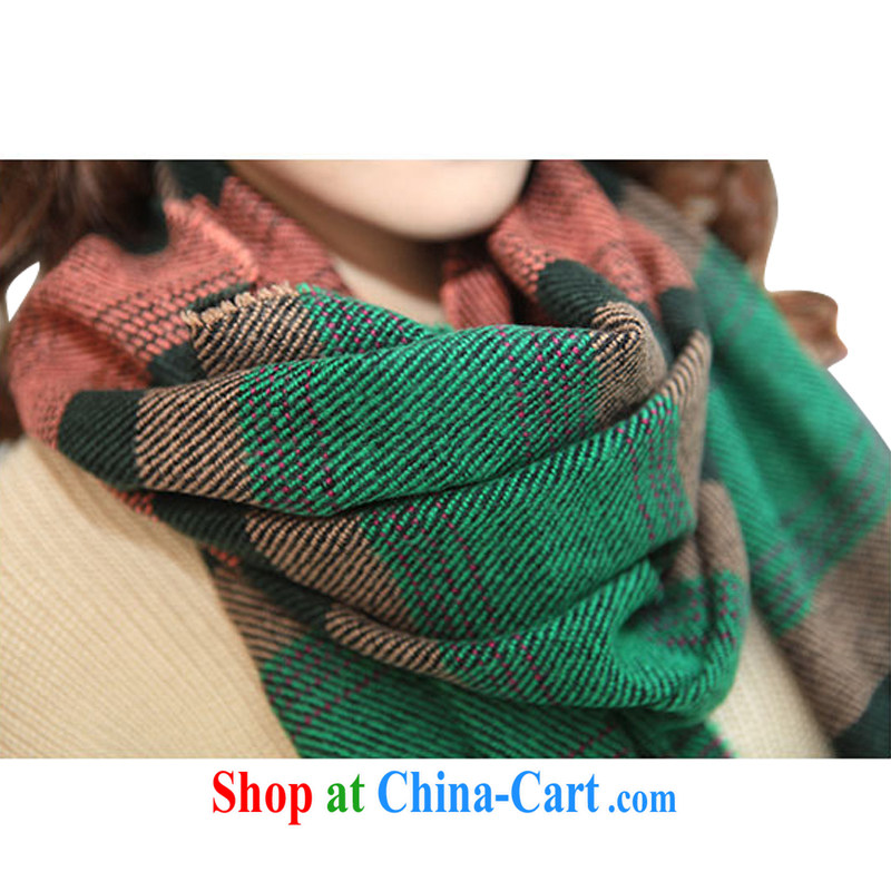 ZXEGI girls Fall Winter new couples, Korean edition flow, horizontal streaks the shawl scarf spell hit color scarf 1213 3 color code
