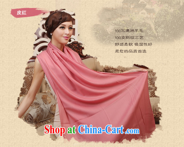 The sub-hong kong woolen scarves pure color, Ms. winter wool scarf Girls fall and winter Korean long reverberating soft leather red pictures, price, brand platters! Elections are good character, the national distribution, so why buy now enjoy more preferential! Health