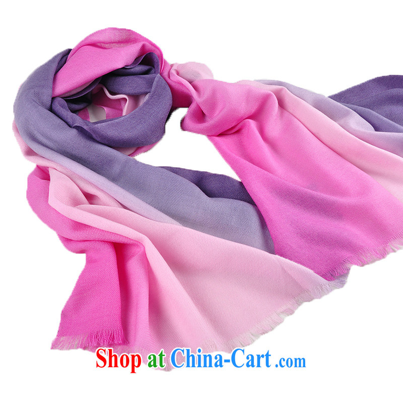 The sub-Hong Kong Winter new 80 Australian Wool scarf shawl the wool scarf girls fall and winter ground 100 long, the first gradient, the sub-images, Hong Kong, and shopping on the Internet