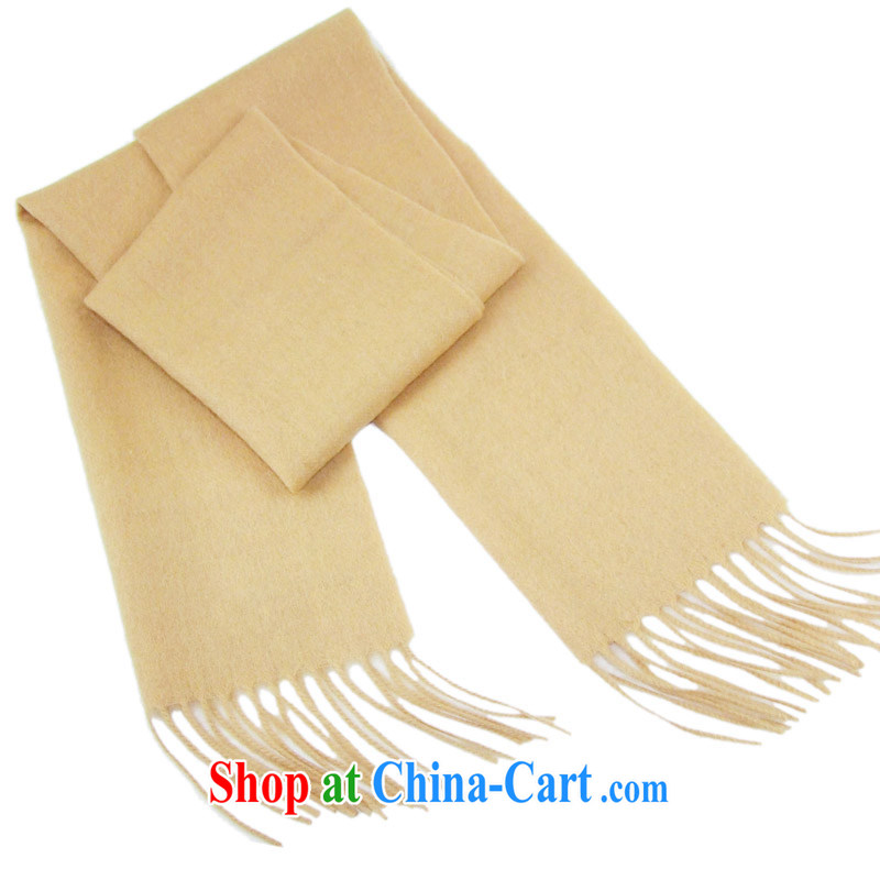 HANG SENG Yuen Cheung-Cashmere wool men's scarves beautiful gift boxed DZ - SF 80 card the color card its color