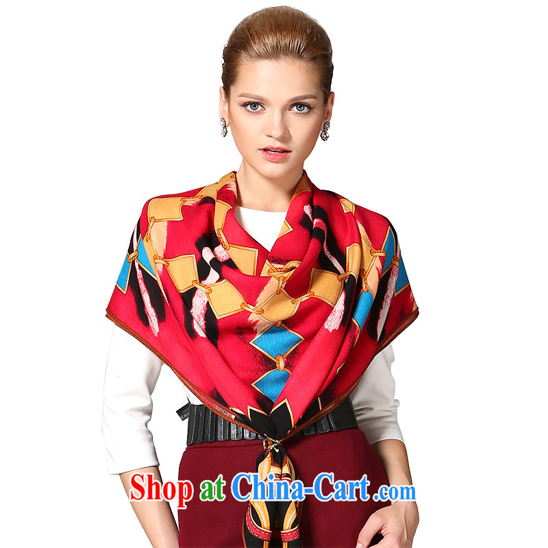 Gemstone butterfly Ms. BAOSHIDI pure wool scarf warm winter shawl new classy and towels/magnificent armed 2 color