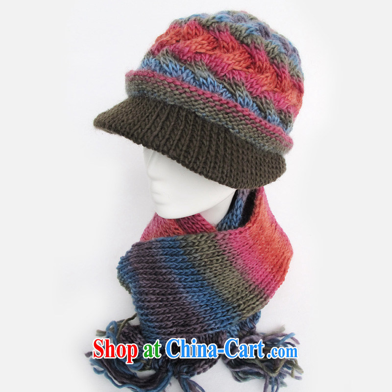 old hat scarf two kits, winter wool hats, old hat MOM cap hat, older girls hat girls fall winter cap 7 color are code, CAPKING, shopping on the Internet