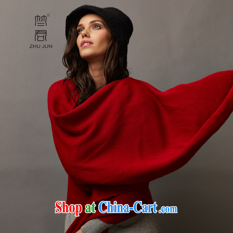 Requested Jun 100% pure cashmere Women fall and winter is red and long warm Pure cashmere scarf shawl 190 * 50 CM is red