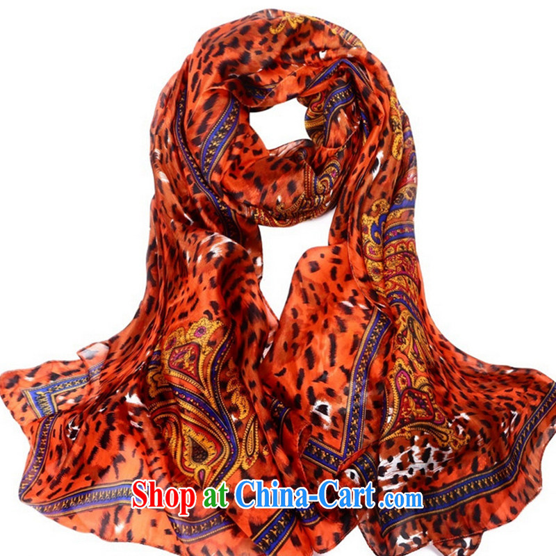 100 % silk sauna silk sunscreen Cape Leopard animal tattoo series ocean spinning scarf scarves WSJ 141,671 170 color length (CM) 180 * 110