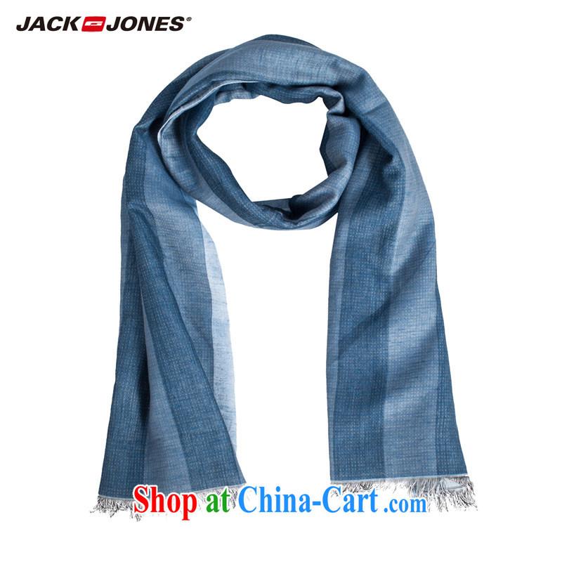 Jake Jones JackJones men's stylish lounge with linen men's long scarf O 214199009 | 033 blue