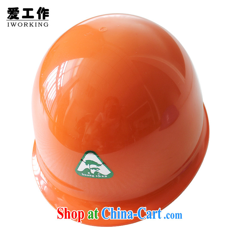 Love ABS work safety helmet classic enhanced helmet cap with site construction insurance Head Protection hat orange