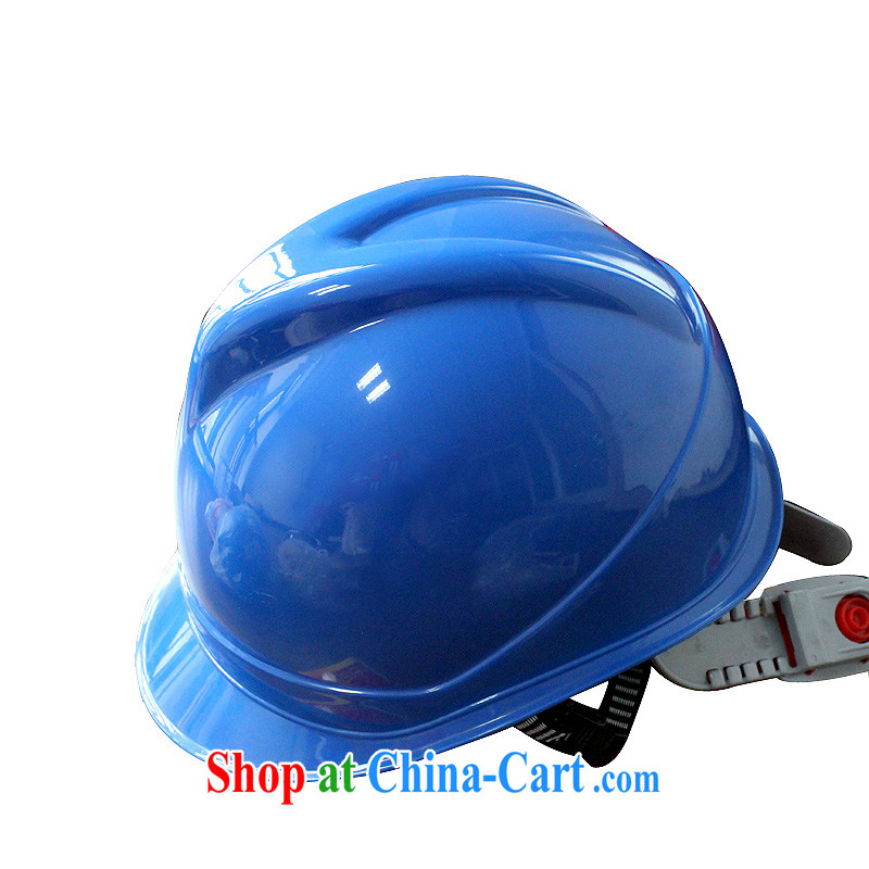 Love the V-protective helmet ABS material site outdoor hat impact resistant engineering cap anti-on cap can be printed word stamp blue