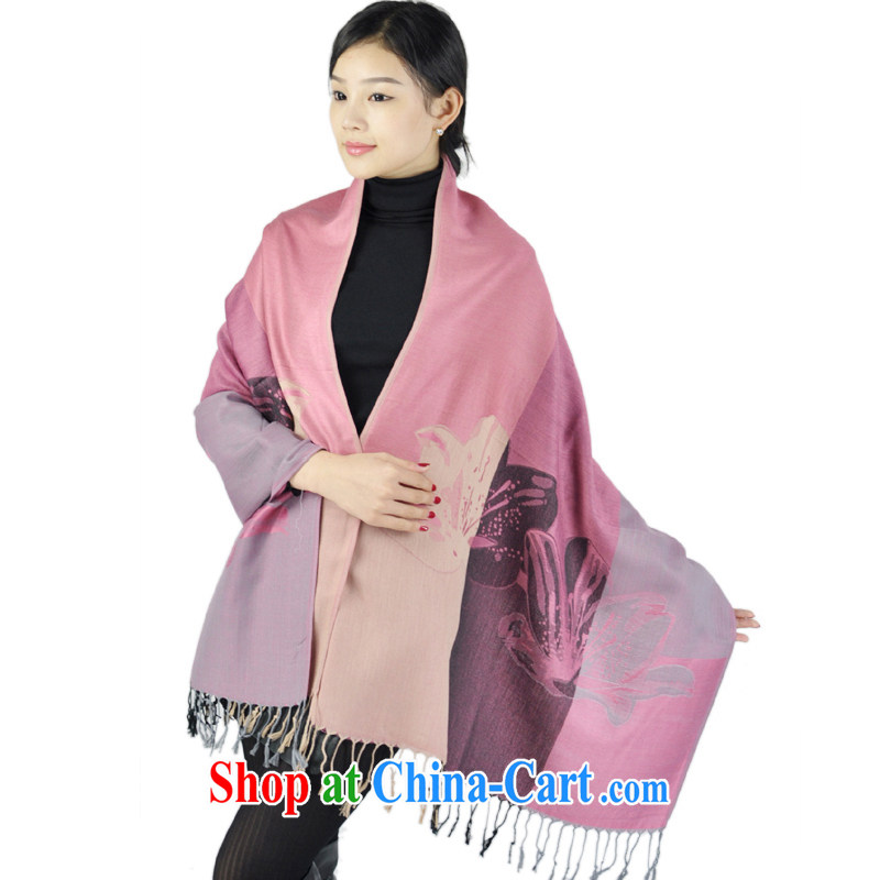 Hung-chun KING SIZE spring and summer tour scarf decorated with silk and cotton-air-conditioned room sunscreen shawls ethnic wind Nepal fashion Windproof of rubber red 200 CM _ 70 CM
