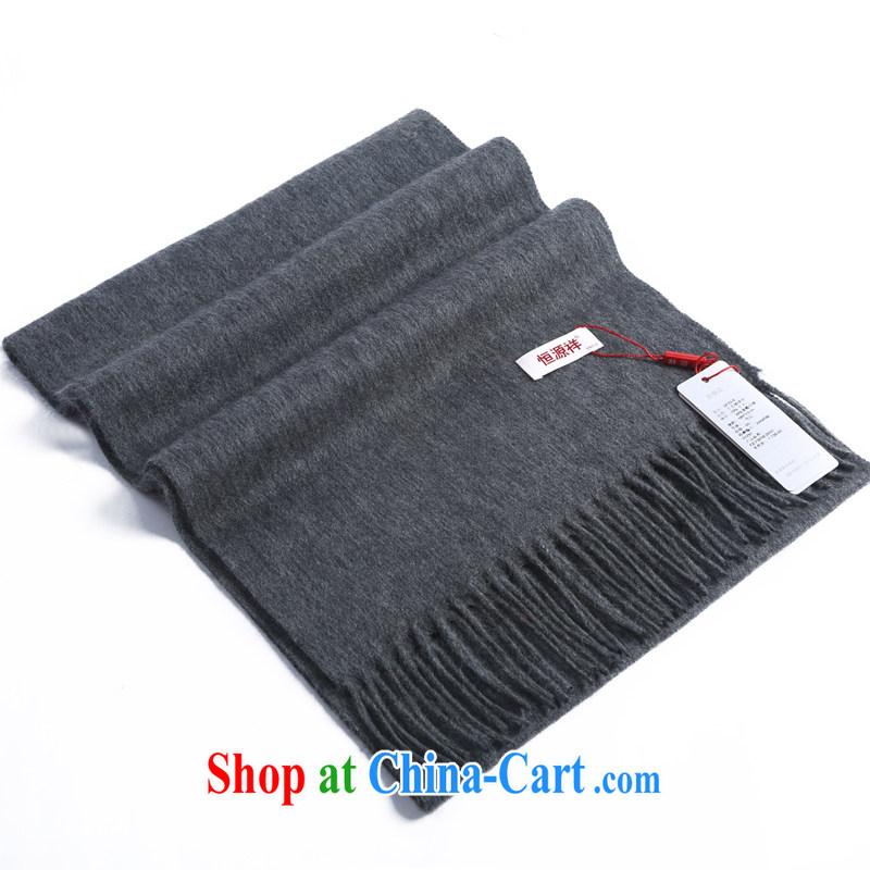 HANG SENG source Cheung, lint-free cloth lamb men, scarves wool Australian Wool couples, gift boxed gray