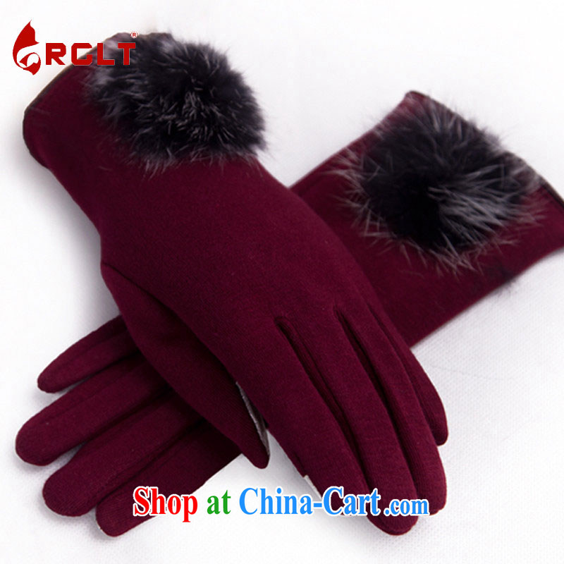 RGLT genuine 2015 spring and summer new, soft graphics thin marten hairs he decorated with touch screen warm gloves and indeed love - Uhlans on