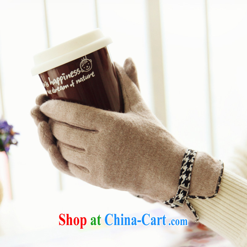 RGLT genuine 2015 spring and summer new products, Elegance warm refer gloves, hand the mandatory pink memories - Light and