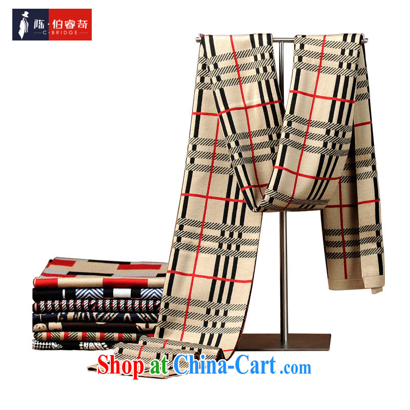 2015 new winter Korean fashion scarves men's woolen scarf thick scarf gift boxed 669 Cornhusk yellow