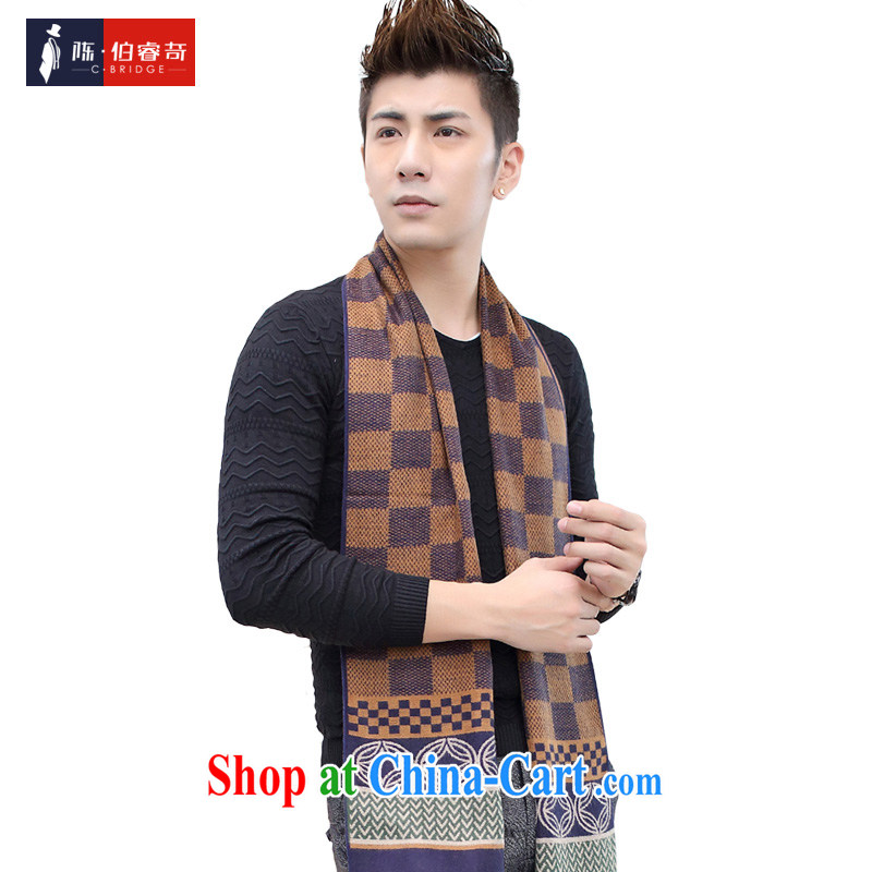 2015 fall and winter new Korean men scarves warm men's jerseys, men and women the cashmere couples scarf brown 0003