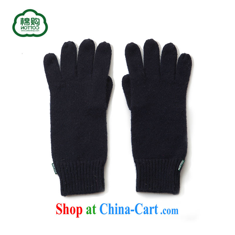 cotton purchase Cottonshop 2014 new autumn and winter, pixel color wool warm ground 100 stylish gloves genuine Tibetan youth F