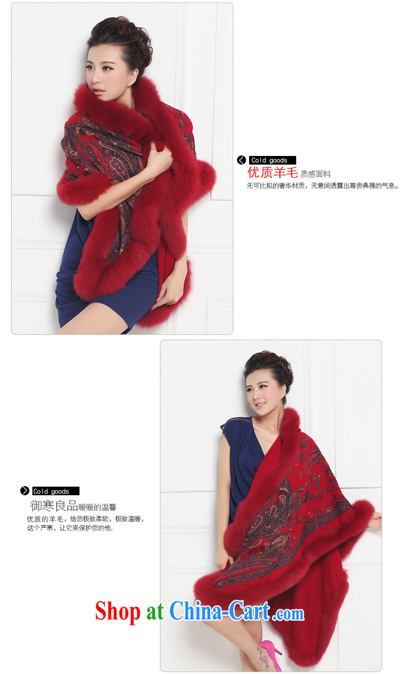 Year-end clearance in genuine Hang Seng Yuen Cheung-lamb plush Fox hair shawl, the classic shawl scarf with two 889 Classic red other pictures, price, brand platters! Elections are good character, the national distribution, so why buy now enjoy more preferential! Health
