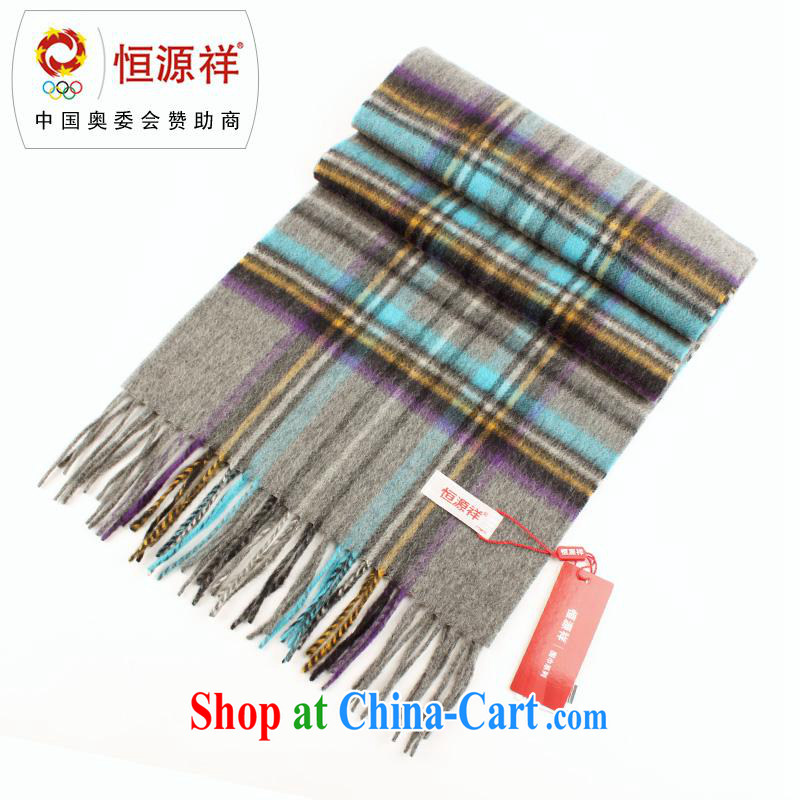 At year-end elections shake up -- Hang Seng Yuen Cheung-genuine lambs wool scarf men and women couples in Europe and America scarf warm tartan wool scarf as a gift box LWS 001 - 915 - 6 blue gray other