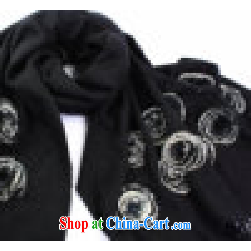 The annual maximum to hang as soon as possible source-hsiang, the wool shawl 22 rose Fox wool shawl scarf two with warm scarves with cassette black other