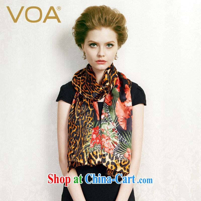 Europe VOA upscale furnishings women silk scarf floral silk scarf big sauna silk multi-colored optional P 905 long hair girl (122)