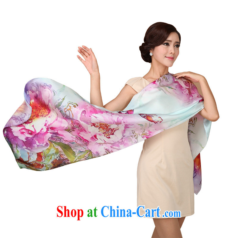 The sub-image Hong Kong Silk silk scarf dos Santos, Ms. silk scarf shawl two fallacies with stunning colorful butterflies South Africa