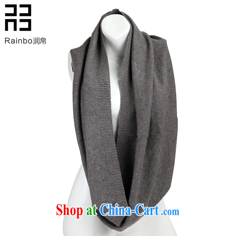 Yun swords into plowshares in Europe and stylish woolen scarf autumn winter aura 100 ground and also set new 2014 men and women, scarves for the payment gray