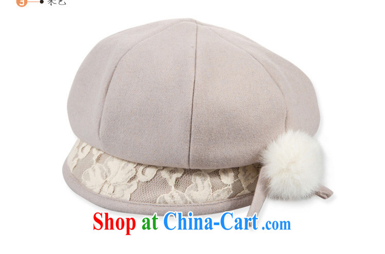 92bf08d72 Korean version lace round top hat spring and autumn the Dome of the ...