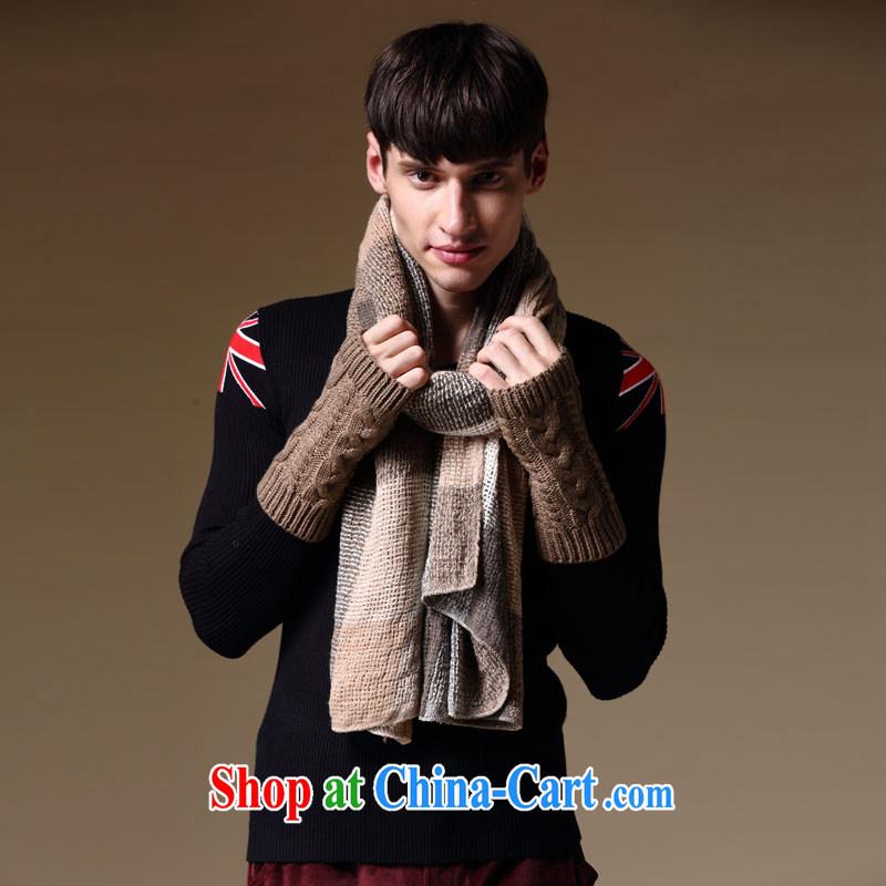 Dan Jie Shi Europe men spell color tartan scarf