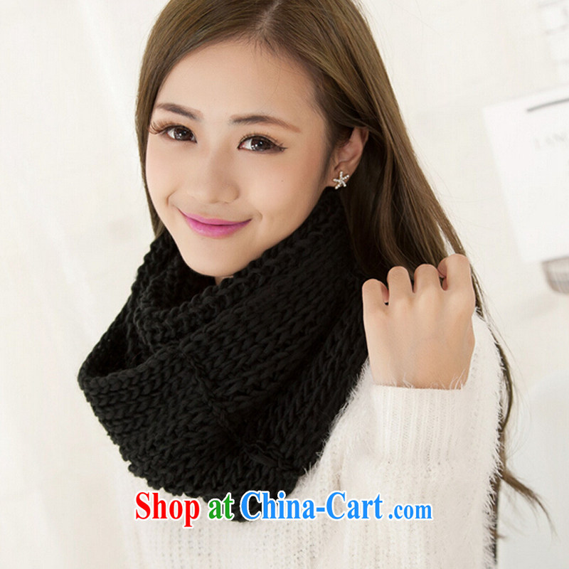 You can bypass the ring factory direct autumn and winter, scarves scarf black are code 100 - 135 CM