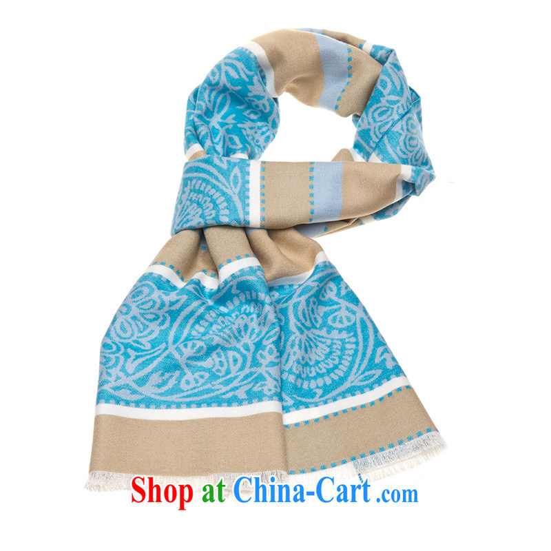 The Hannibal HANY spring 2015 New Men's scarf stick, scarf up to payment the blue Fort dance