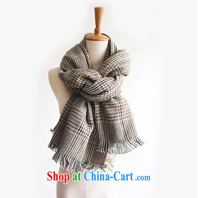 2014 autumn and winter, Dr YEUNG Sum, with cotton 1000 birds, scarves shawls two ultra-long thick student couples, men and women knitting scarves 809 figure color code