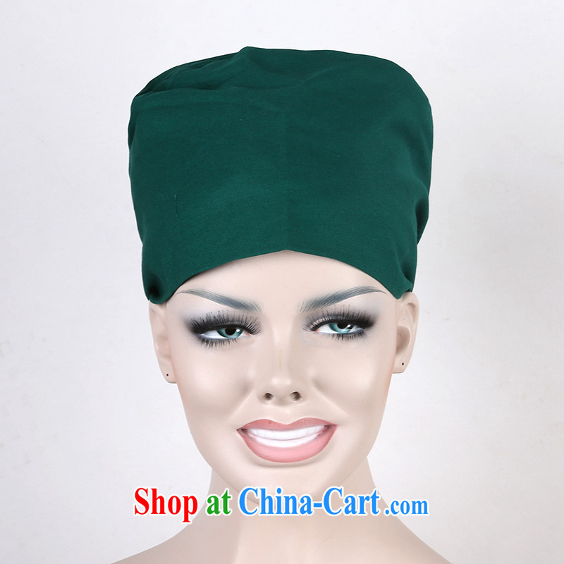 New cotton Solid Color surgical cap food machinery textile dust working cap workers cap hat Hair Wash dark clothing matching that nurses