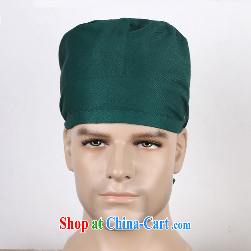 Nurses are all cotton dark theater male doctors, with the cap of obstetrics and gynecology doctors, with genuine Adjustable size bonnet