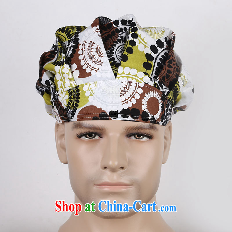 Nurses are cotton stamp surgical cap shaggy cap 8 cap beauty therapists work cap infant swimming cap yellow windmill