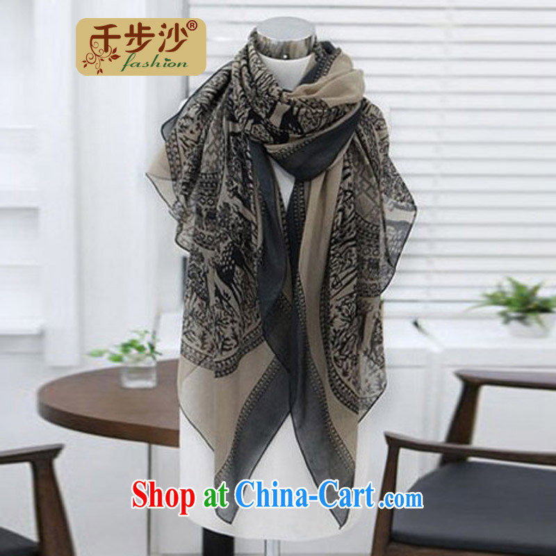 1000 TO THE 2014 autumn and winter new popular Bali yarn small deer, scarf Korean ultra-large, large scarf shawl card its color