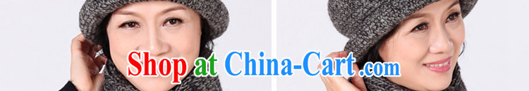The Mayan winter female-knit hat scarf two-piece roses pure wool MOM hat scarf thick warm, breathable cap elegant, mother maroon scarf + hat pictures, price, brand platters! Elections are good character, the national distribution, so why buy now enjoy more preferential! Health