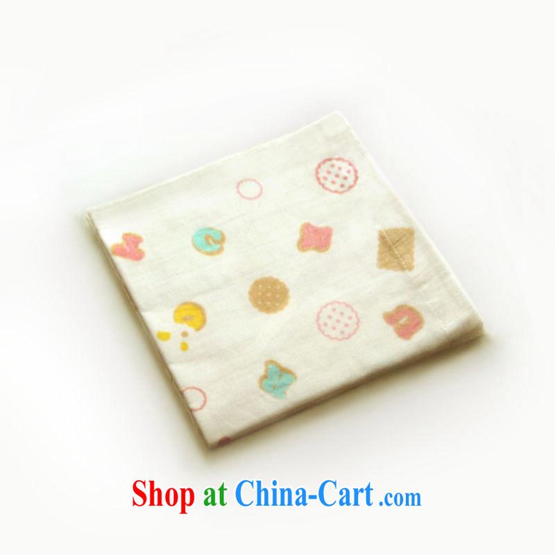 Optimize nest original import the cotton towel small towel handkerchief baby Japanese cookies