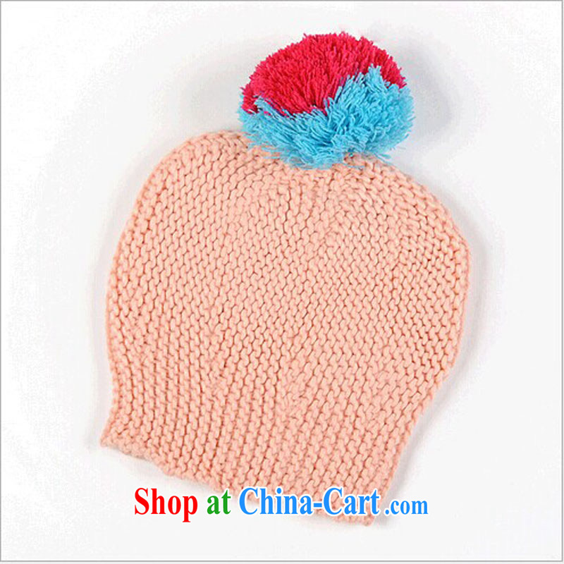 A good 2014 autumn and winter with Ms. ball ball Knit Hat scarf girl, knitting hat scarf two-piece M - 051 black, the VeriSign Wolf (DIWEILANG), online shopping